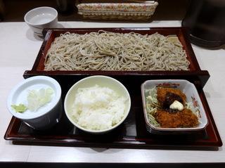 20140109みとう庵@大塚(4)お勧めセットカキフライ780.JPG