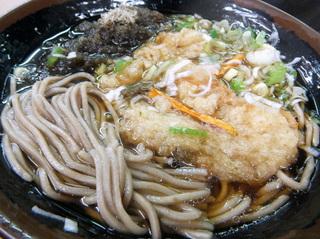 えびすや@横須賀中央(8)天ぷらとろろそば460.JPG
