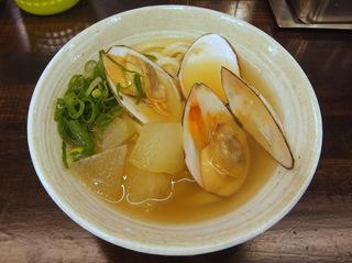 おにやんま@青物横丁(7)白貝冬瓜並450コーンほたてとり卵.JPG