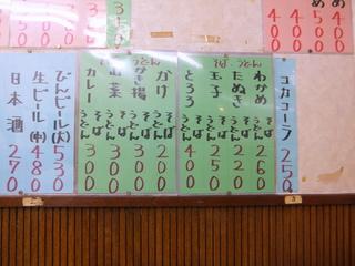 信濃路@鴬谷(3)たぬきそば220.JPG