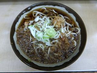 六文そば中延店@中延(5)たぬきそば300.JPG