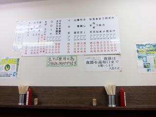 大黒そば@池袋(5)げそかき揚そば450.JPG
