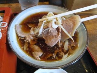 蕎麦政@南花畑(8)冷肉そば420.JPG