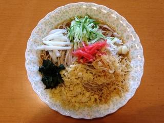 藤原製麺@北海道旭川市(1)幌加内そば238たぬきそば.JPG